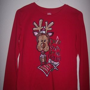 Justice Red Christmas Sleepwear Size Girls 16-18